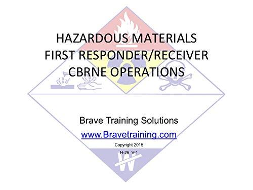 amazon com hazmat cbrne first receiver operations ppt training