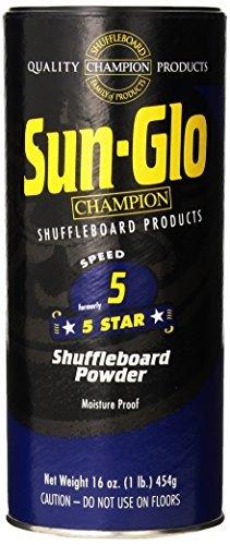 - Sun-Glo #5 Shuffleboard Powder Wax (16 oz.) (Pack of 2)