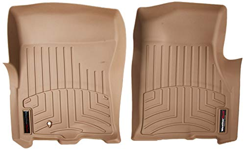 WeatherTech 451071  Custom Fit Front FloorLiner for Ford Expedition, Tan