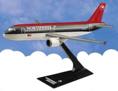 Flight Miniatures Northwest Airlines NWA 1989 Airbus A320-200 1:200 Scale Display Model