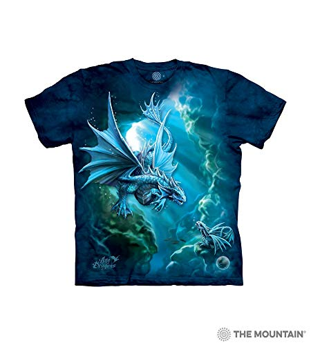 The Mountain Sea Dragon Child T-Shirt, Blue, Medium
