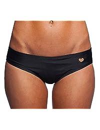 Sexy Women Heart Cut-Out T-Back Thong Bikini Bottom Beachwear