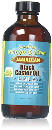 Jam. Mango & Lime Black Castor Oil Amla 4oz