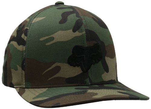 Fox Men's Legacy Flexfit Hat, Camo, Large/X-Large