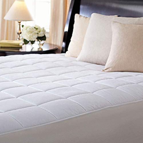 Sunbeam Premium Luxury Quilted Electric Heated Mattress Pad King Size