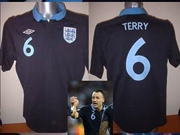 Umbro Inglaterra John Terry Chelsea Fútbol de fútbol Camiseta de ...