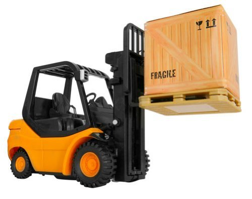 Forklift Controlled Industrial Construction Vehicle
