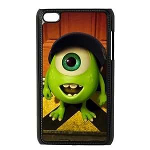 iPod Touch 4 Case Black Monsters University EUA15995123 Phone Case Cover Custom Unique