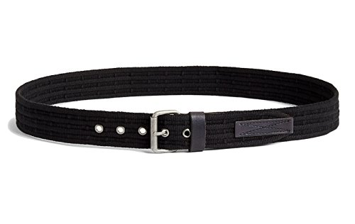 Lucky Brand Men's - Black Military-Inspired Crochett Webbed Belt (38)
