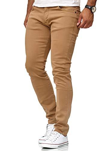 Coupe Denim Slim Camel Occasionnels Chino Pantalon Redbridge Jeans De Hommes Base atx5q5