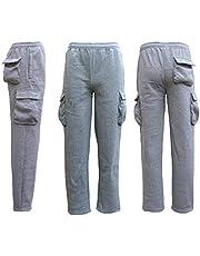 Zmart Australia Men's Unisex Cargo Fleece Lined Casual Jogging Sports Gym Track Suit Sweat Pants