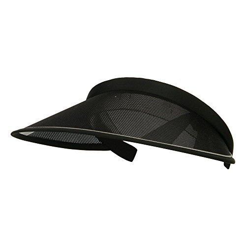 Clip On Visor (UV 50+ Protection Clip On Visor - Black OSFM)