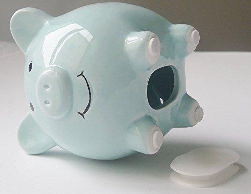 Kids piggy banks small adorable ceramic coin money piggy bank for boys girl kids first gift - Ceramic piggy banks for boys ...