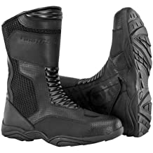 Firstgear Mesh Hi Boots (8) (BLACK)