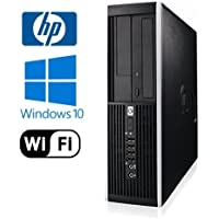 HP 6000 Pro SFF Desktop - Intel Core 2 Quad 2.4GHz - NEW 1TB HDD - 4GB DDR3 - Windows 10 Pro 32-Bit - WiFi - DVD-ROM (Prepared by ReCircuit)