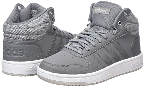 Homme Chaussures F17 Fitness Gris White ftwr De Hoops 0 grey grey 2 F17 Three Mid Adidas naWATqF0w