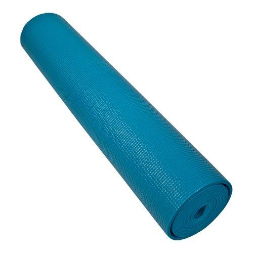 24 X 72 X 6 MM Piloga Yoga Mat- Non-Toxic, Sky Blue