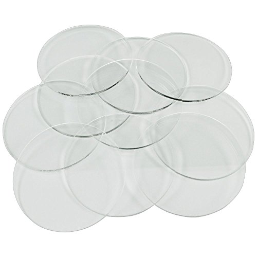 Litko Game Accessories 1.5mm Clear Miniature Bases, Circular 60mm (10)