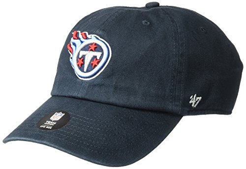 NFL Tennessee Titans Clean Up Adjustable Hat, Navy, One Size Fits All Fits (Tennessee Football T-shirt)