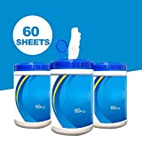 Disposable Wipes,Portable 75 Alcohol Wet Wipes
