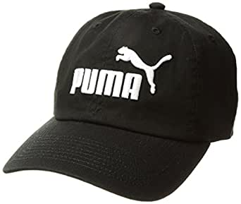 PUMA Women's Evercat #1 Adjustable Cap, Black/White, OS