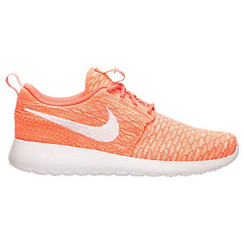 reputable site deea1 bca96 Galleon - Nike Womens Rosherun Flyknit Running Trainers 704927 Sneakers  Shoes (uk 3.5 Us 6 Eu 36.5, Hot Lava White Sunset Glow 800)