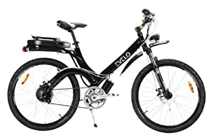 EVELO Aurora Electric Bike with NuVinci N360 Drivetrain & 500W Motor Package, Black