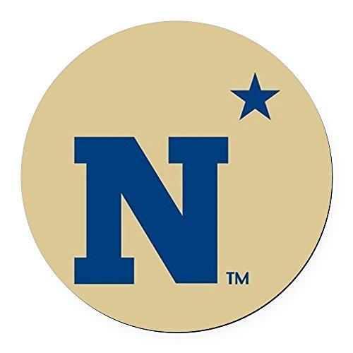 Car Academy Naval - CafePress - U.S. Naval Academy N - Round Car Magnet, Magnetic Bumper Sticker