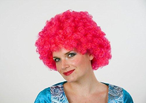 Parrucca capelli in una borsa, rosa