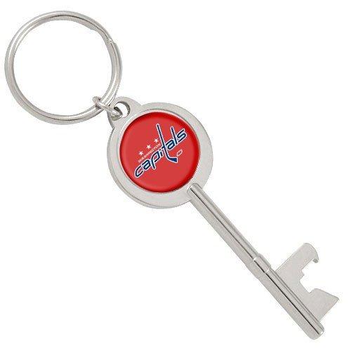 aminco NHL Washington Capitals Skeleton Key Bottle Opener Key Ring