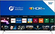 Smart TV Philips 50PUG7625 4K UHD, P5, HDR10+, Dolby Vision, Dolby Atmos, Bluetooth, WiFi, 3 HDMI, 2 USB - Pre