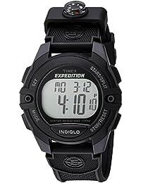 Men's TW4B07700 Expedition Full-Size Digital CAT Black Resin Strap Watch