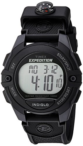 - Timex Expedition Classic Digital Chrono Alarm Timer 41mm Watch