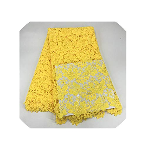 Nigerian Wedding African Lace Fabric/100% Cotton Lace/Guipure Cord Lace Fabric for Wedding Party,As Picture12