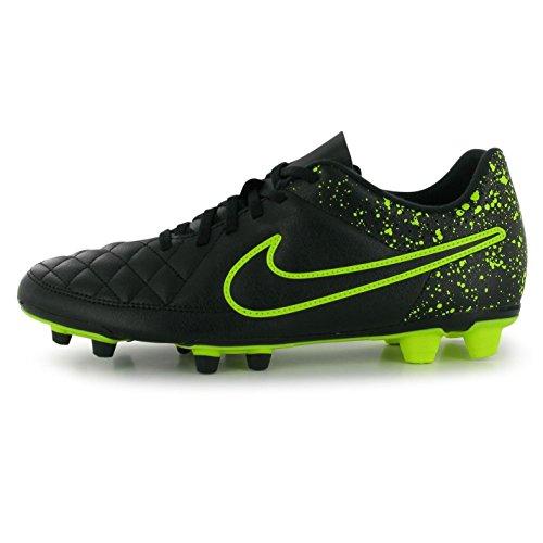 Black Rio Soccer Boots Ground Firm Men's FG Cleats Football Volt Tiempo Boot Nike qn4EwPA6Sn