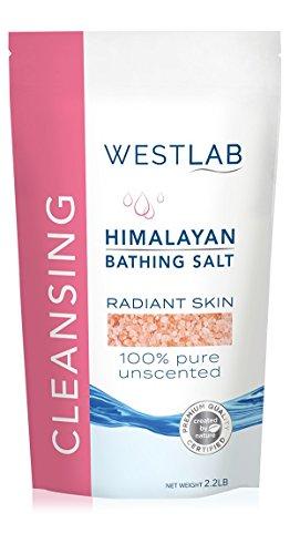 Himalayan Salt Pink Fine 4.4 lbs 2 Pack(FINE for Bathing in...