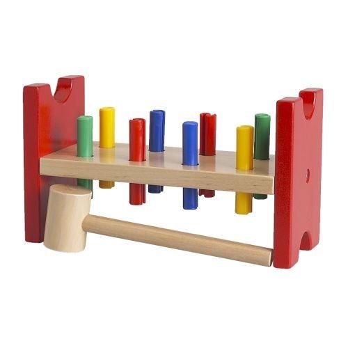 IKEA - MULA Toy hammering block, multicolor by IKEA