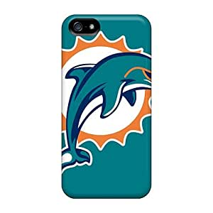 Iphone 5/5s PoJ4511WDRk Allow Personal Design Trendy Miami Dolphins Pictures Protector Hard Cell-phone Case -JasonPelletier