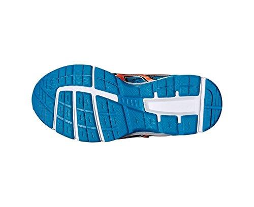 ASICS Pre Galaxy 8 Junior Zapatillas Para Correr - SS16 Azul / Naranja