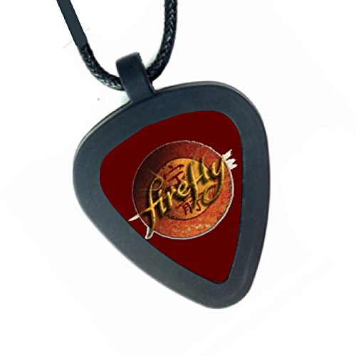 Firefly TV Show Pickbandz Mens or Womens Real Guitar Pick Necklace