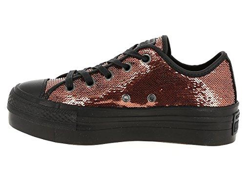 Bronzo Ctas Chaussures Femme Ox Platform Pour Avec Bronze Converse 559041c Paillettes vxAdtOqOw