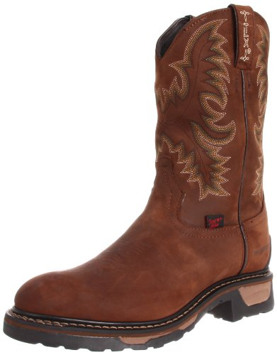 Lama Tony Cowgirl Boots - Tony Lama Men's Waterproof TW1018 Work Boot,Tan Cheyenne,9.5 D US
