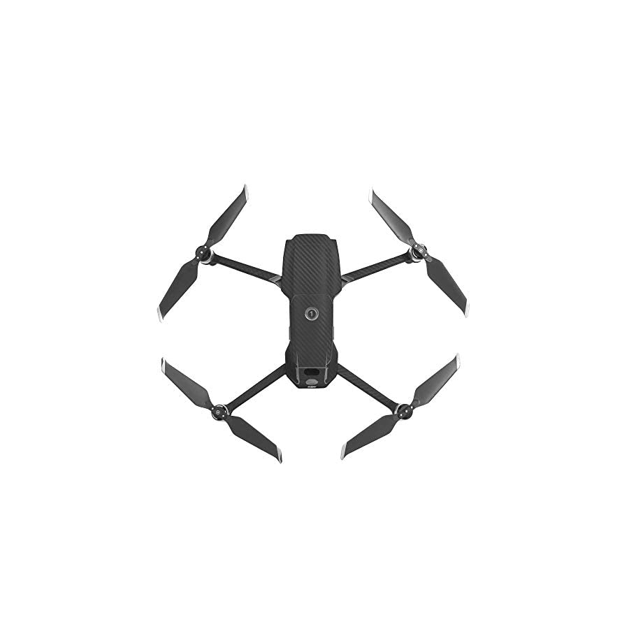 Voberry- Compatible with DJI Mavic 2 Pro/Zoom Quadcopter Accessories, Waterproof Body Cover Protector PVC Carbon Fiber Skin Stickers for DJI Mavic 2 Pro/Zoom Drone Gimbal Camera