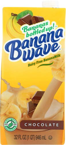 Banana Wave Milk Banana Chocolate 32.0 FO (Pack of 12)