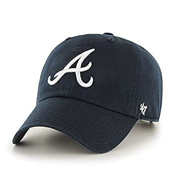 951b02d63386e 47 MLB Atlanta Braves CLEAN UP Cap - 100% Cotton Twill Unisex Baseball Cap  Premium