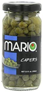 Mario Camacho Nonpareille Capers, 3.5-Ounce Jars (Pack of 6)