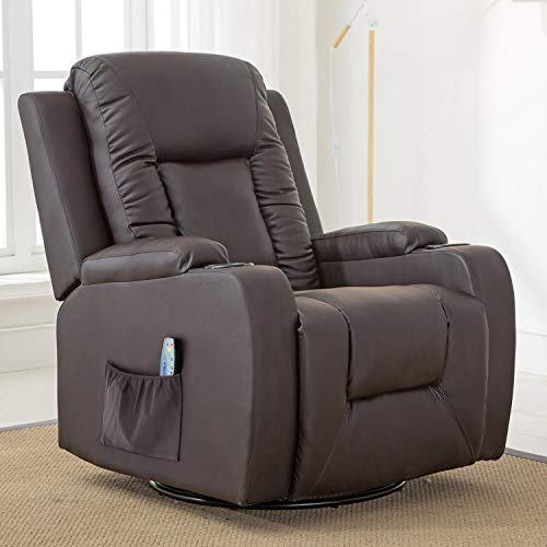 ComHoma Leather Recliner Chair