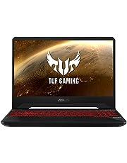 "ASUS TUF Gaming FX505DY-BQ024 - Portátil Gaming 15.6"" FullHD (Ryzen 5 3550H, 8GB RAM, 512GB SSD, AMD Radeon RX560X-4GB, Sin sistema operativo) Negro Red Matter - Teclado QWERTY Español"