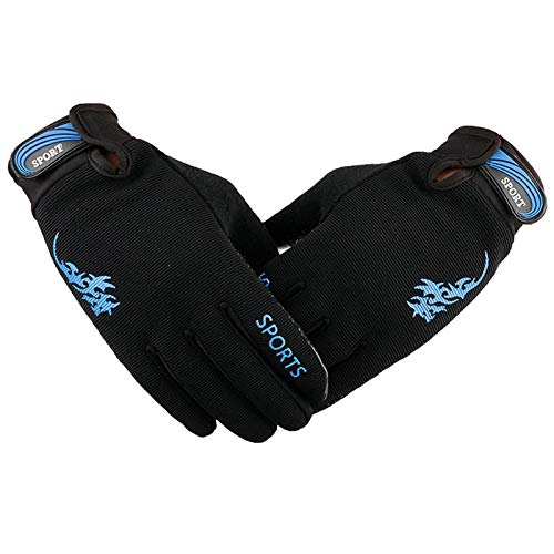 Epinki Winter Gloves Mobile Phone Touch Screen Gloves Warm Gloves Sport Gloves Outdoor Gloves Blue-A190