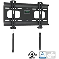 Ultra-Slim Black Fixed/Flat Low-Profile Wall Mount Bracket for Westinghouse LD-3255VX 32 inch LED HDTV TV/Television